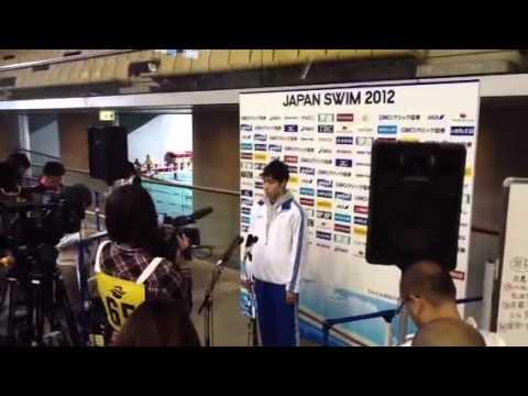 fda72e84f4669f9d9e4b72387a7c822d 高校生!萩野公介が日本新でロンドン出場決定!